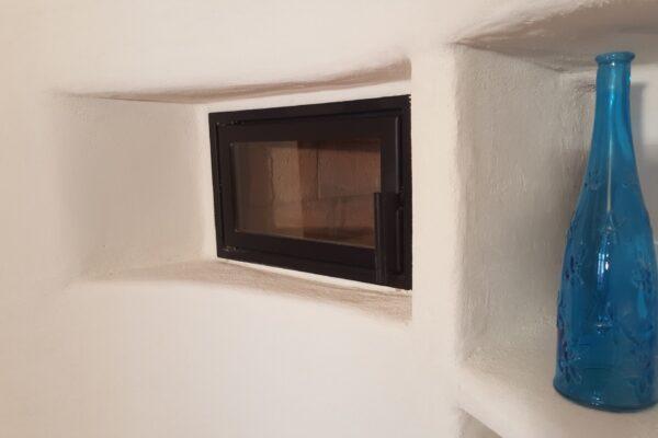 forno  e nicchia  lato cucina