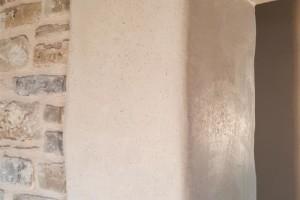 costruzione imbotti  in canapa + calce alla fattoria dell'autosufficienza