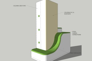 concept schema vista dal soggiorno