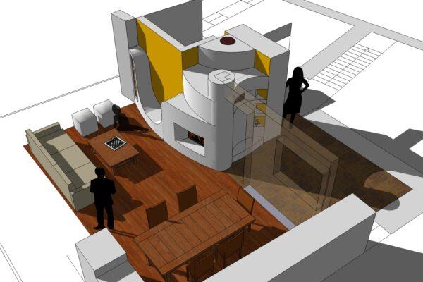concept design assonometria