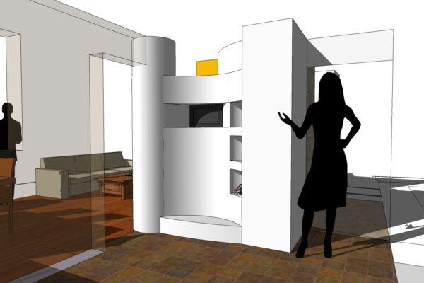 concept design lato cucina