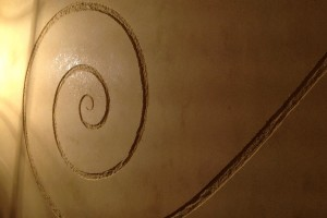 spirali di tadelakt