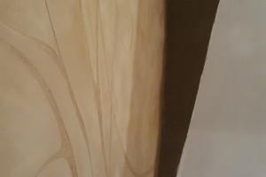 dettaglio curva della panca e albero della vita