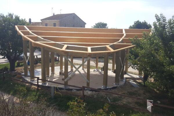 edificio in canapa il Casotto del Marchese