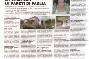 articolo giornale ©Filo di Paglia