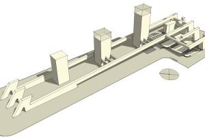 concept struttura basamento