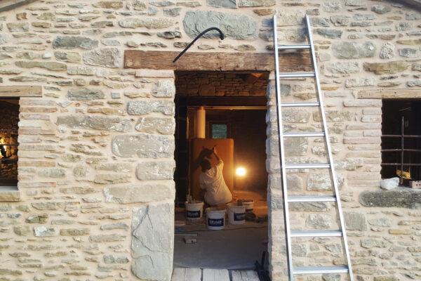 work in progress stube  di Maria Luisa