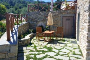 patio appartamento fattoria