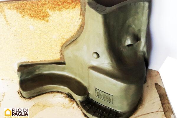 modellino di argilla stube di Simone